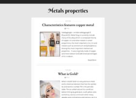 metals-properties.blogspot.ae