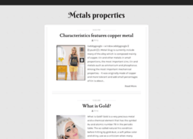 metals-properties.blogspot.com