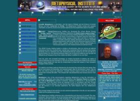 metaphysicalinstitute.org
