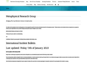 metaphysicalresearchgroup.co.uk