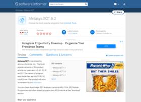 metasys-sct.software.informer.com