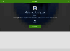 metatag-analyzer.apponic.com