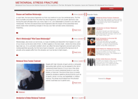 metatarsalstressfracture.blogspot.com