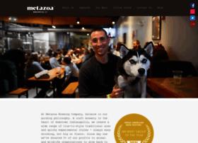 metazoabrewing.com