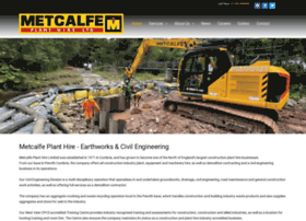 metcalfe-plant-hire.co.uk