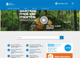 Meteogalicia websites and posts on meteogalicia