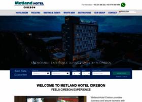 metlandhotelcirebon.com