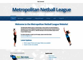 metnetballleague.co.uk