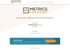 metricsfornews.com
