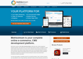 metrixstream.com