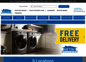 metroappliancesandmore.com