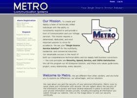 metrocommunication.com