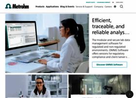 metrohm.com