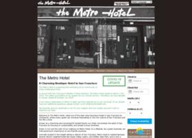 metrohotelsf.com