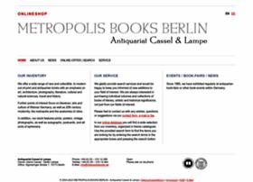 metropolisbooks.de
