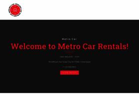 metrorentacar.net