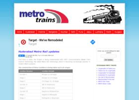 metrotrains.in