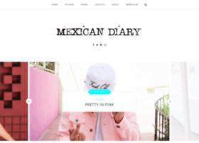 mexicandiary.com