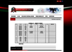 mexico-soccerleague.com