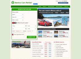 mexicocarsrental.com