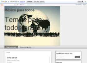 mexicoparatodos-jose.blogspot.com