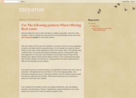 meyaron.blogspot.com