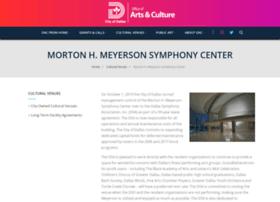 meyersonsymphonycenter.com