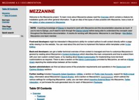 mezzanine.readthedocs.org