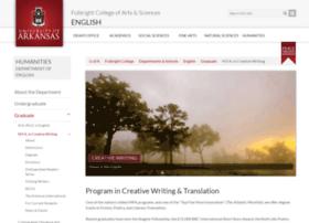 mfa.uark.edu