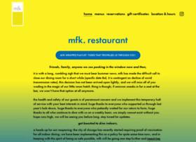 mfkrestaurant.com