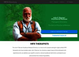 mfrtherapists.com
