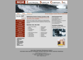 mgmelectricalsurplus.com