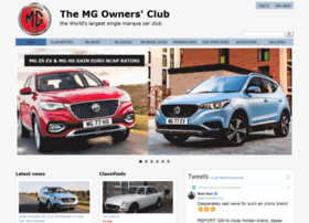 mgownersclub.co.uk