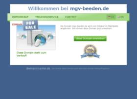 mgv-beeden.de