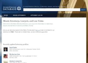 miami.attorneydirectorydb.org