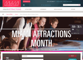 miamiattractionsmonth.com
