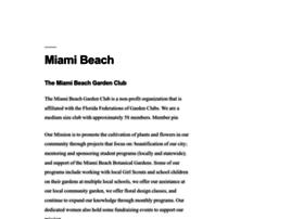 miamibeachgardenclub.com