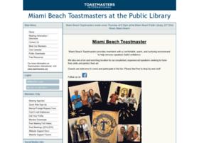 miamibeachtoastmasters.toastmastersclubs.org