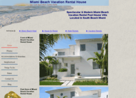 miamibeachvacationrentalhouse.com