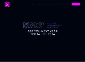 miamiboatshow.com