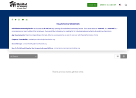 miamihabitat.volunteerhub.com