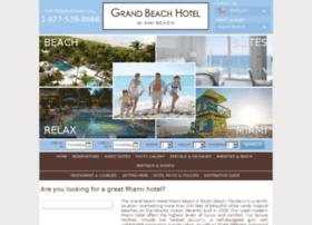 miamihotelgrandbeach.com