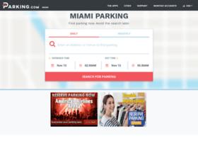miamiparking.spplus.com