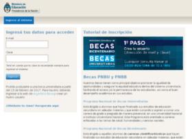 mibeca.becasbicentenario.gov.ar