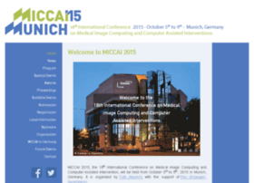 miccai2015.org
