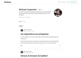 michaelcarpentier.com