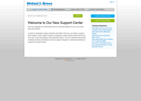 michaelsbrown.supportsystem.com
