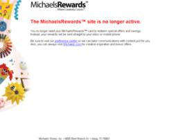 michaelsrewardsmembers.com
