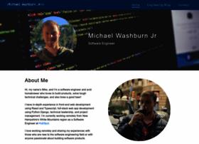 michaelwashburnjr.com