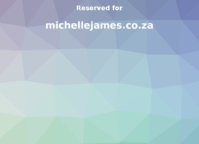 michellejames.co.za